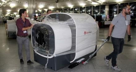 الأشعة المقطعية المطارات