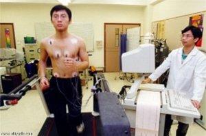 الطب النووي القلب الجهد